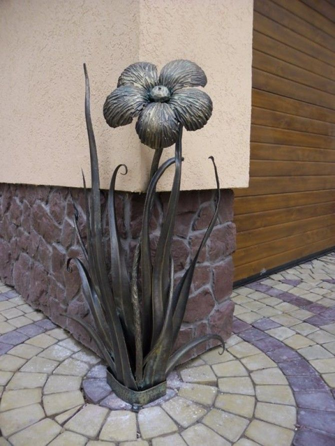 Кованая скульптура №10   * Wrought iron sculpture www.ArtSklad.net