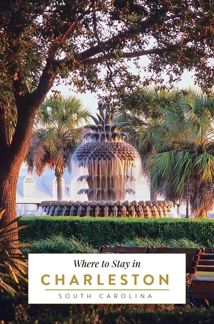 A travel guide to the neighborhoods of Charleston, South Carolina with our favorite 5 hotels in Charleston's historic districts that ooze southern charm. Charleston SC things to do, Charleston wedding, #charleston , #southcarolina, travel tips, best small towns in the usa, southern cities,