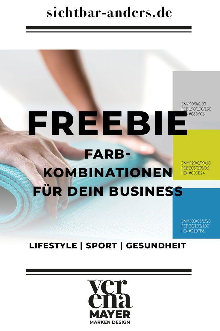 Farbkombinationen Fur Dein Business Probiere Mit Unserem Freebie