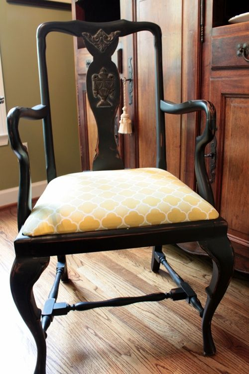 Best 25 Recover Chairs Ideas On Pinterest  Reupholster Furniture Cool Fabric To Recover Dining Room Chairs Decorating Inspiration