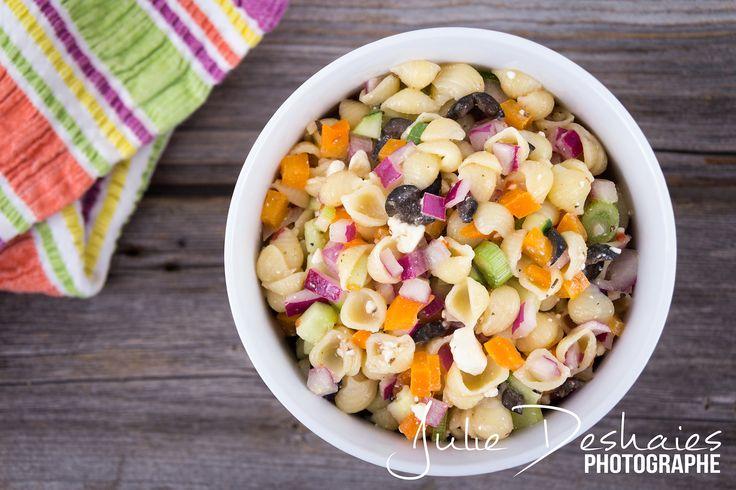 Salade de coquille style grecque