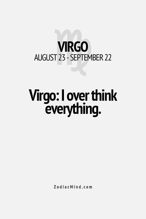 Fun facts about your sign here...I do this even though not Virgo