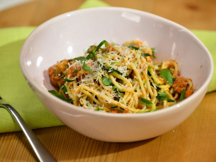 Turkey Bolognese with Voodles recipe from Katie Lee via Food Network
