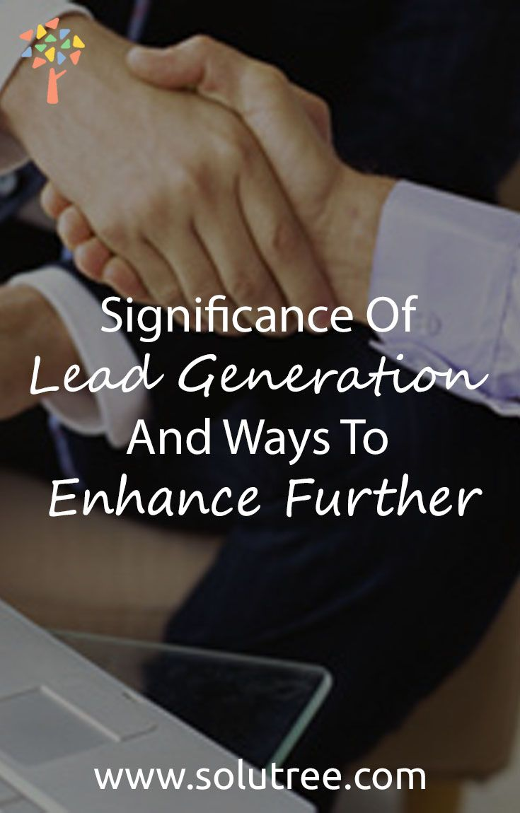 Lead generation is an effective way of swelling the sales. The company has to provide an edge to the product so that the customers can be committed to the product.