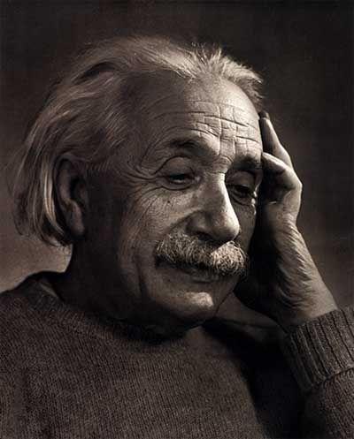 Albert Einstein 1948 by Yousuf Karsh