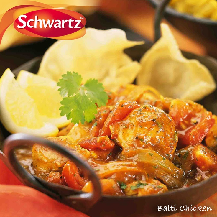 A traditional medium-heat Balti curry using diced chicken thighs for a richer flavoured dish, great for all the family served with long grain rice.    https://www.facebook.com/photo.php?fbid=383213988430225=a.379717145446576.91059.114457901972503=3