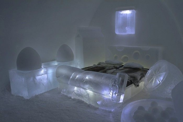 Top 30 World's Weirdest Hotels … Never Seen Before! ... Icehotel-4 └▶ └▶ http://www.pouted.com/?p=30907