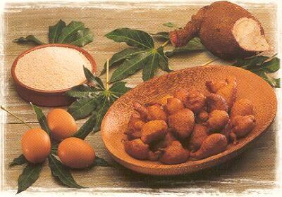 Beignets à la farine de manioc