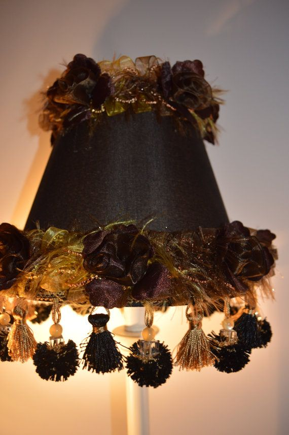 56 best kabinettet images on pinterest lamp shades lampshades black roses french cottage lamp shade with by auntpittypatsattic 1999 aloadofball Gallery