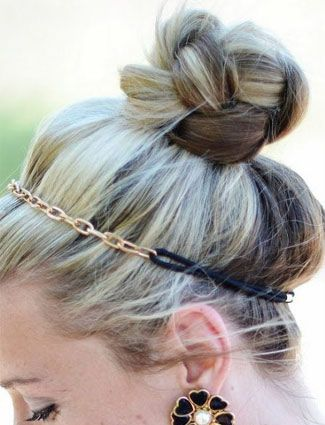 Pinterest Inspired Top Knot Hairstyles hairstyles updos