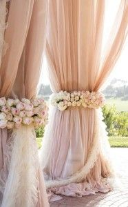blush pink wedding decor ideas                                                                                                                                                                                 More
