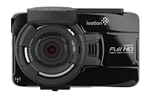 Ivation Dash Cam 32GB HD 1080p GPS Tracking Video  Audio Recorder WiFi Download Motion Detection Low Light Dashcam Best Dashboard Camera for Car  Truck Includes Extra Dash Mount >>> Click on the image for additional details.Note:It is affiliate link to Amazon.