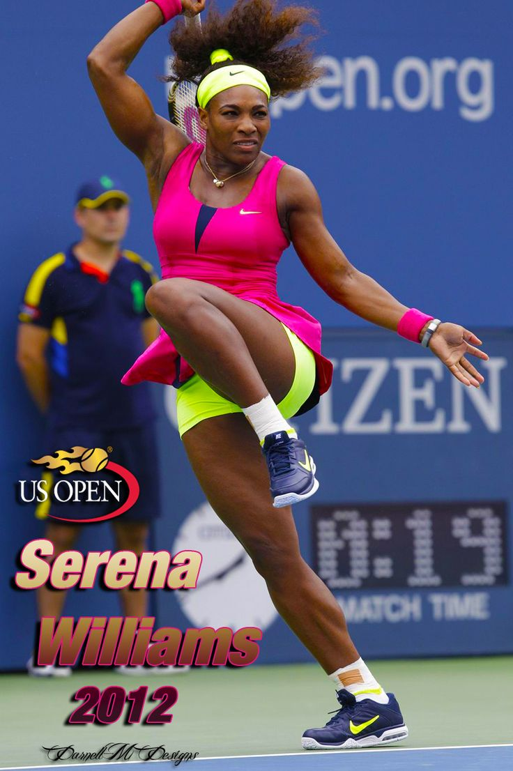Serena Williams at US Open 2012