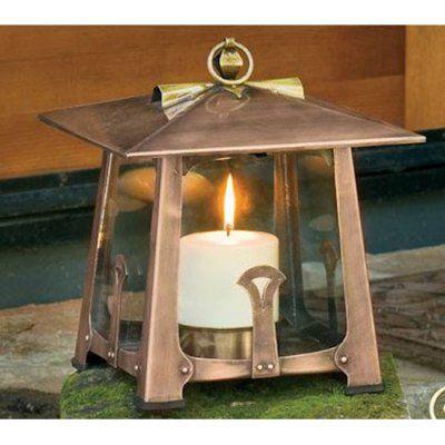 H. Potter Small Craftsman Candle Lantern - GAR263