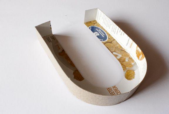 lavender's blue: DIY Giant Cardboard Letters