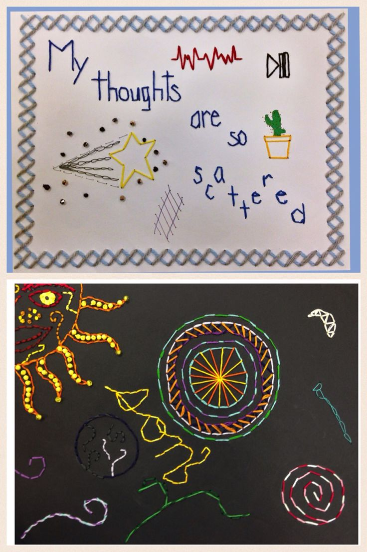 Crafts for highschool students - Paper Embroidery With High School Crafts Class Students