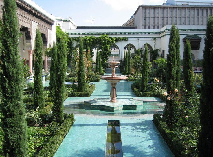 Isabelle Levêque - Jardins de la Grande Mosquee de Paris