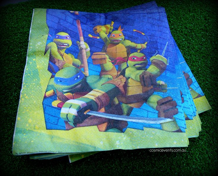 Teenage Mutant Ninja Turtles theme available for DIY Party Packages #TMNT