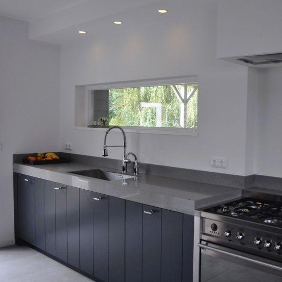 ANTRACIET KEUKEN - Keukens landelijk - Projecten - Punt 57A