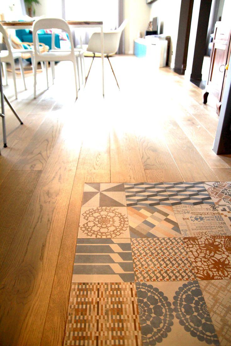 Combinatie met houten vloer by Huis van Haaz!