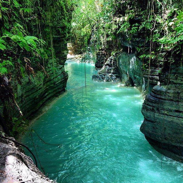 Kanlaob River, Alegria, Cebu, Philippines ---Photo by @go_intimidating--- #cebu @topdestinationsph