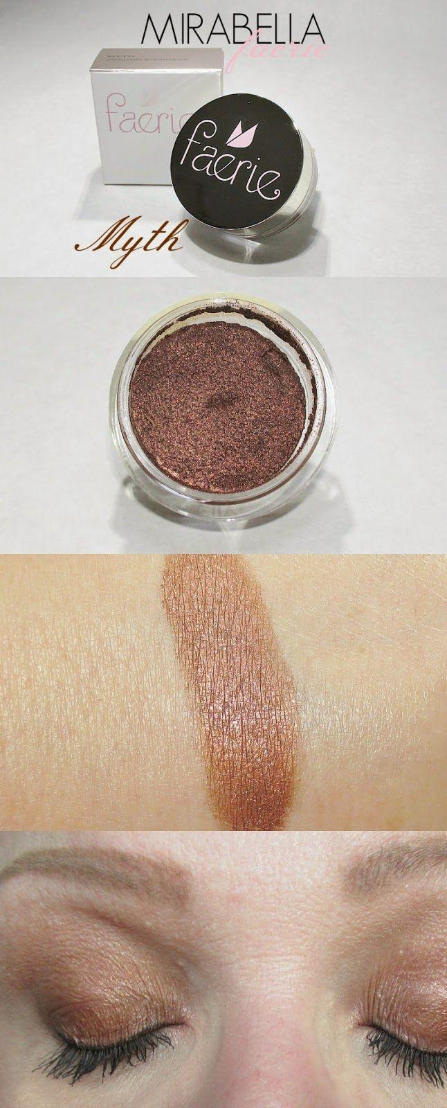 Icy Nails: Mirabella Myth Visionary Long Wear Eye Shadow Review and swatches and eye look. #mirabella #myth #prsample #beauty #thebeautycouncil #bblogger
