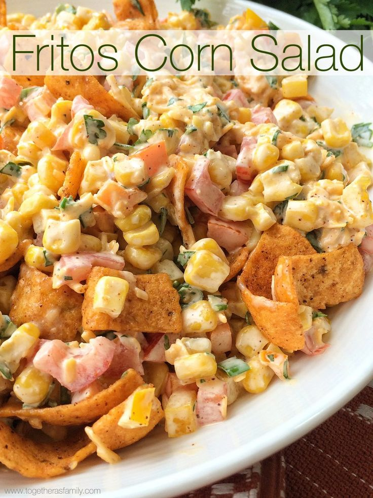 FRITOS CORN SALAD | www.togetherasfamily.com