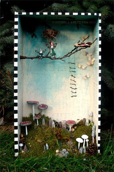 Faerie shrine - Nichola Battilana