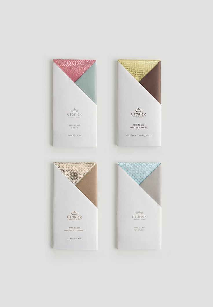 A Lovely Chocolate Bar that's Packaged with Origami — The Dieline | Packaging & Branding Design & Innovation News