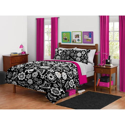 your zone reversible damask bedding comforter set - Damask Bedroom Ideas