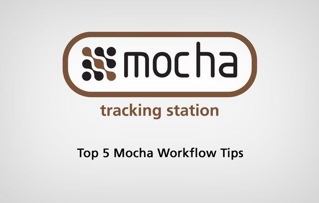 Martin Brennand of Imagineer covers the top 5 most useful workflow tips for products: mocha, mocha for After Effects and mocha for Final Cut. Recommended for new users!