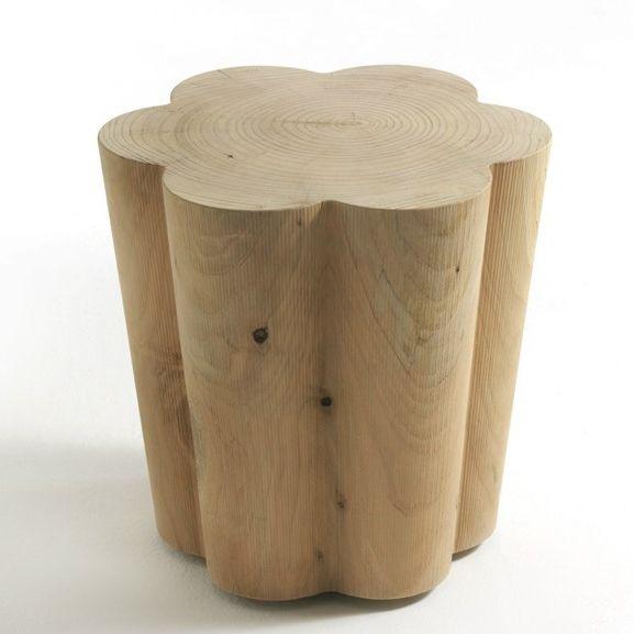 Personalidad creativa muebles / en forma de pétalos de bancos de madera mesa de café / de pantalla props / diseñador wood taburetes en Taburetes y Otomanos de Muebles en AliExpress.com | Alibaba Group