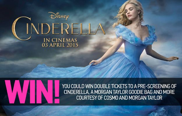 Win Tickets to a Pre-Screening of Cinderella worth R285 | Ends 11 March 2015