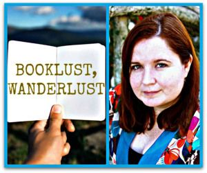 I'm now a book columnist for The Displaced Nation! Here's our fun graphic for the Booklust Wanderlust articles.