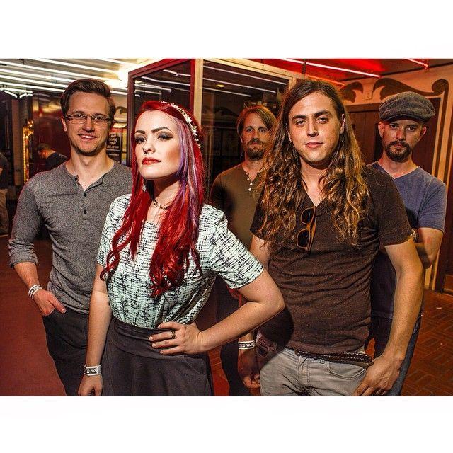 Kaela Sinclair and band at the Granada Theater