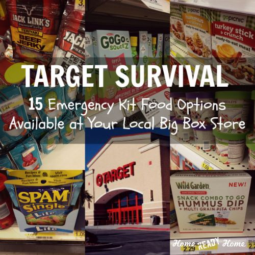 Target Survival: 15 Emergency Kit Food Options Available at Your Local Big Box Store