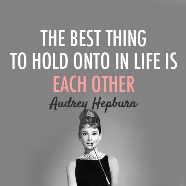 """If we were all just a bit kinder, you know? 