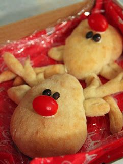 Jo and Sue: Rudolph The Red Nose Reindeer Bread