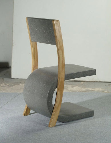concrete contemporary chair MADAME COMPACT CONCRETE