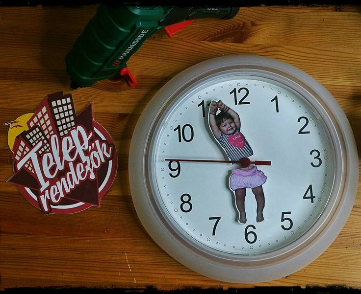 IKEA hack - my new clock :)