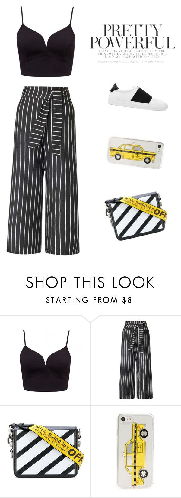 """""""Untitled #70"""" by tutiselgado ❤ liked on Polyvore featuring Miss Selfridge, Off-White, Kate Spade, Givenchy and vintage"""