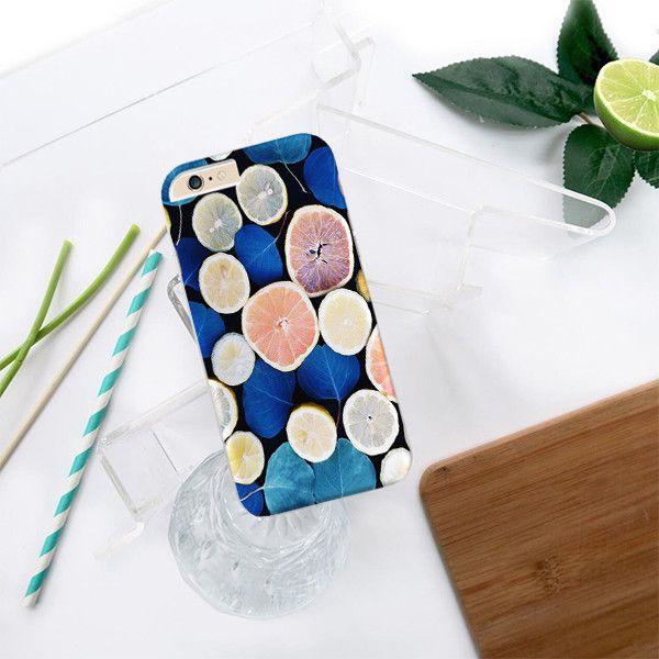 Leaves and Fruits design case iPhone Samsung HTC - Solomiia-Ivanytsia - Etui na…