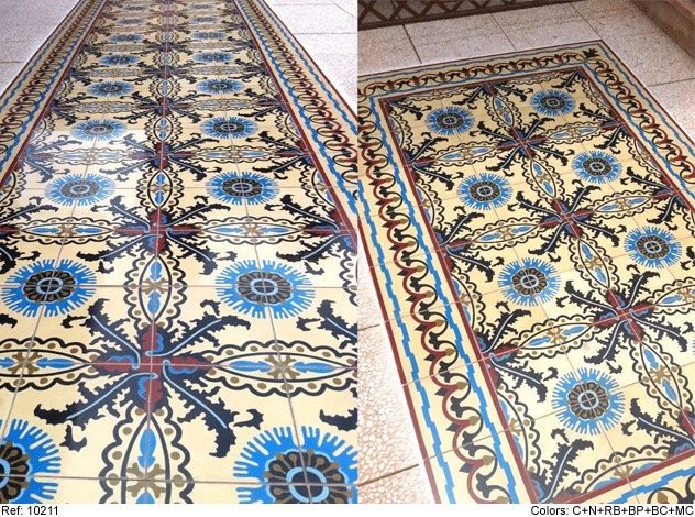 mosaic del sur cement tiles for the home pinterest. Black Bedroom Furniture Sets. Home Design Ideas