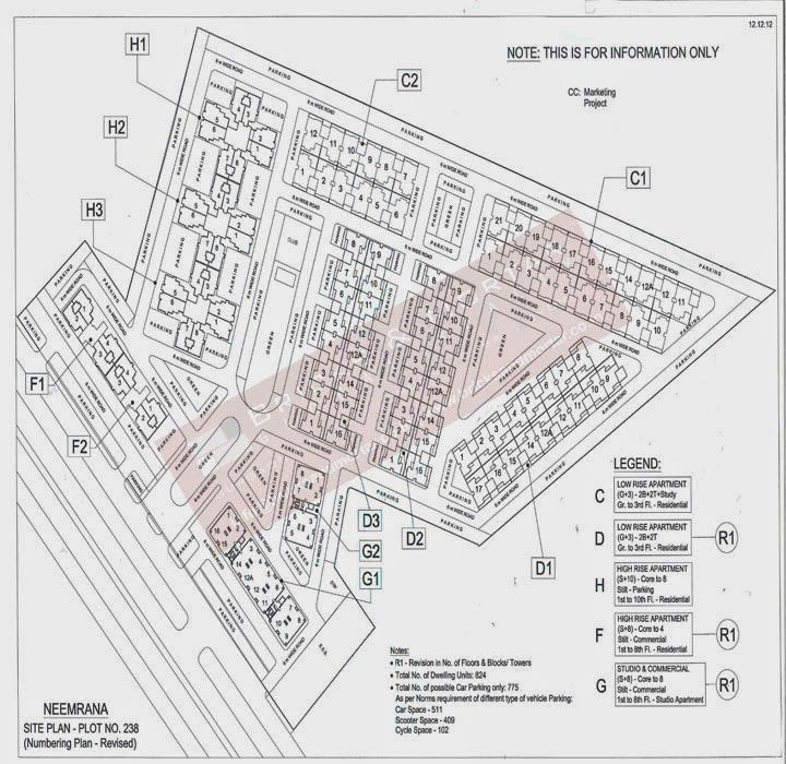 PROPERTY IN NEEMRANA 88 00 66 61 15: Eldeco Fronted park In Neemrana
