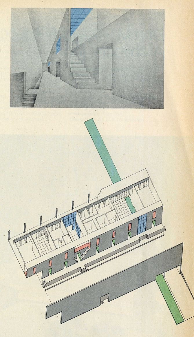 Remment Koolhass and Laurinda Spear. Progressive Architecture 56 January 1975: 47 | RNDRD