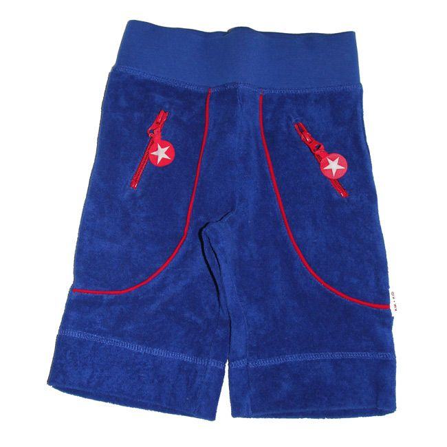 Knotsknetter - Kik-kid kniebroek blauw badstof - Jongenskleding