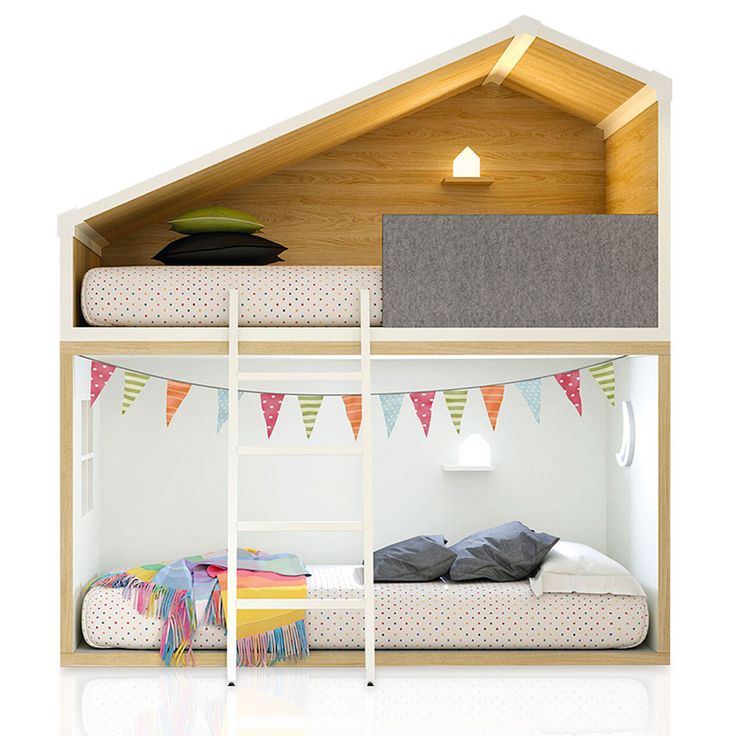 Oltre 25 fantastiche idee su letto a castello su pinterest - Gran casa camerette ...