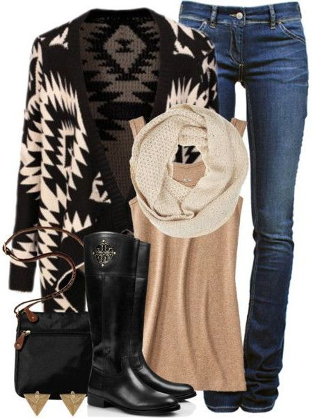Winter Tribal Outfit ♡
