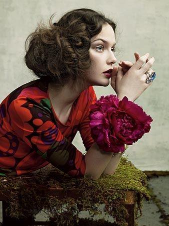 Bracelet fleur ou salade
