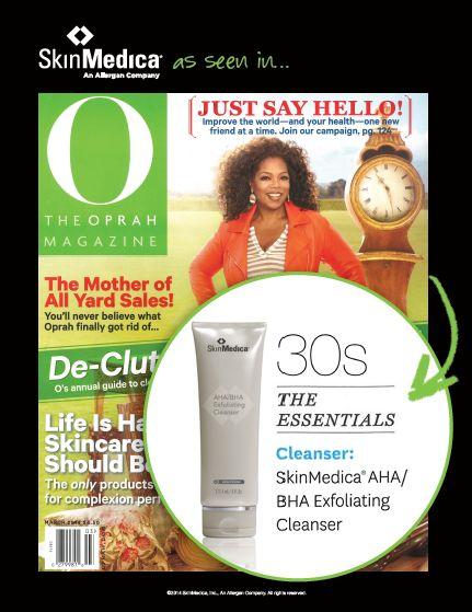 AHA/BHA Exfoliating Cleanser - Oprah Magazine